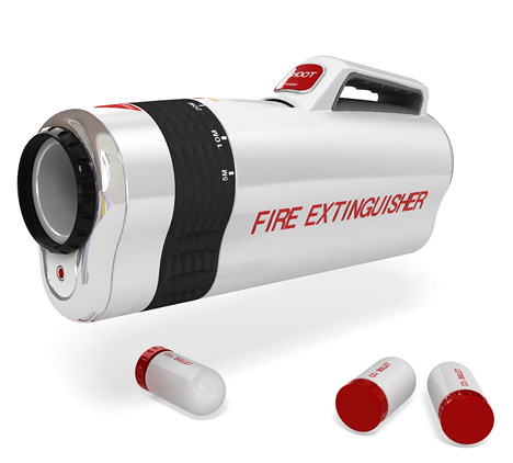 Shooter, Fire Extinguisher Concept