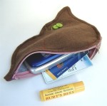 Hepatic liver and gallbladder zippered pouch